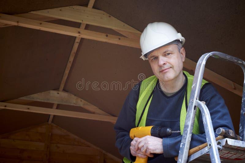 byggmästare fotografering för bildbyråer