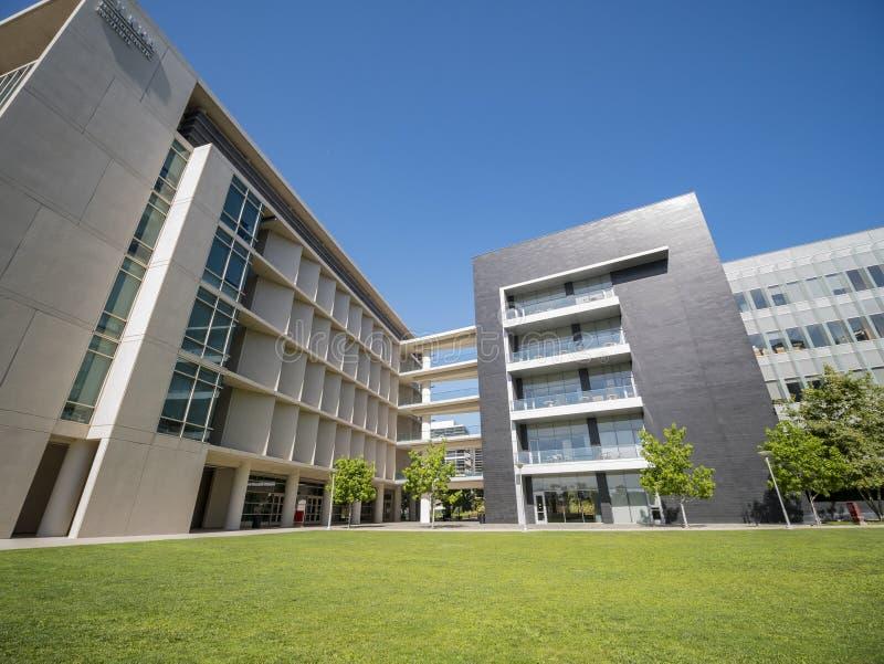 Byggnad av universitetet av sydliga Kalifornien vård- vetenskaper Ca arkivfoton