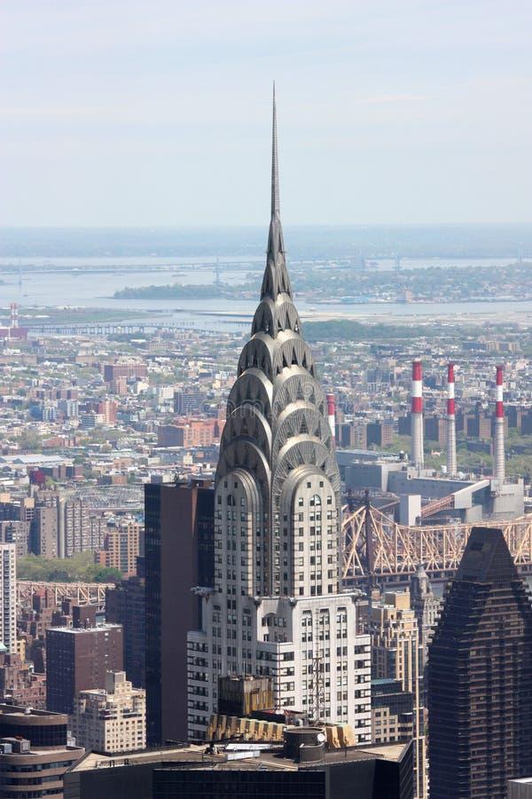 byggnad chrysler New York fotografering för bildbyråer