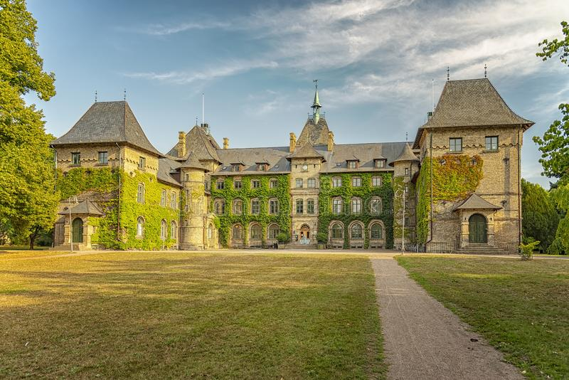 Byggnad för Alnarp slottuniversitet arkivbild