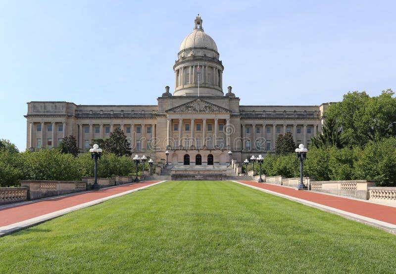 Byggnad för Kentucky statKapitolium arkivfoto