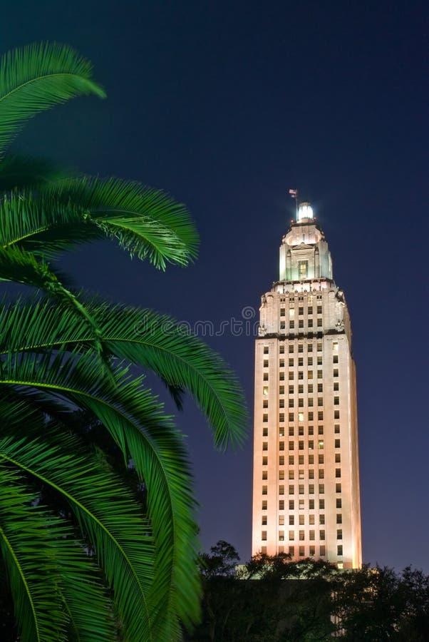 Byggnad för Louisiana tillståndsCapitol royaltyfria bilder