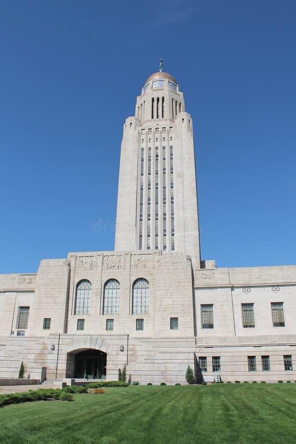 Byggnad för Nebraska tillståndsCapitol royaltyfri bild