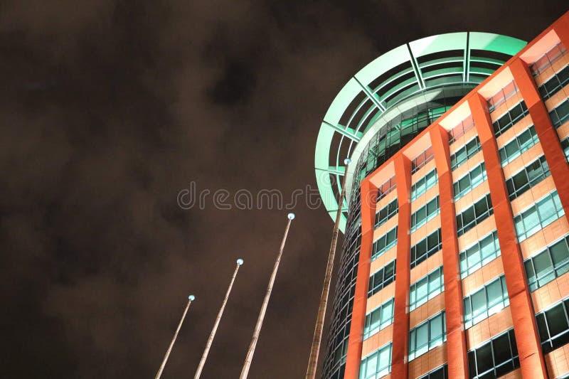 Byggnad för shopping för `-Vasco da Gama ` arkivfoto