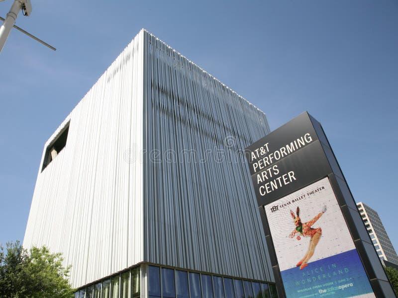 Byggnad för AT&T föreställningskonstmitt arkivbild