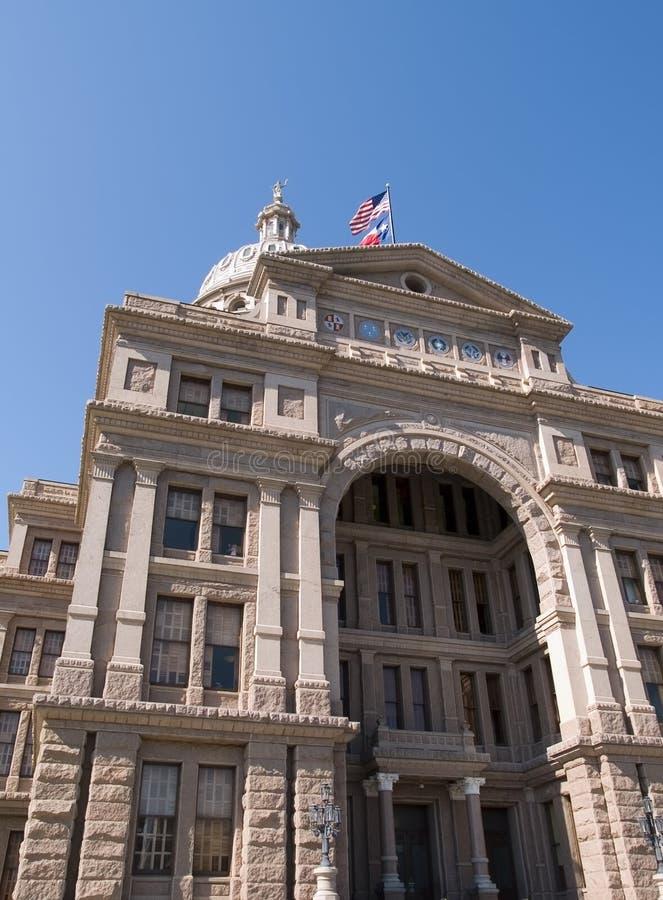 Byggnad för Texas tillståndsCapitol arkivfoton