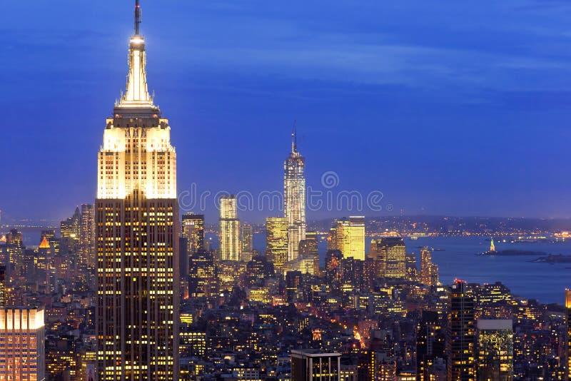 Byggnad för väldetillstånd, New York, USA royaltyfri bild