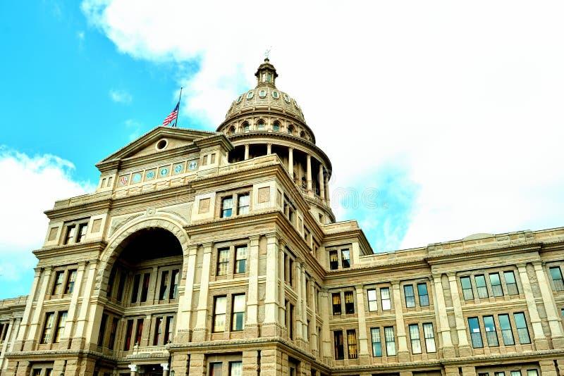 Byggnad f?r Texas tillst?ndsCapitol royaltyfri fotografi
