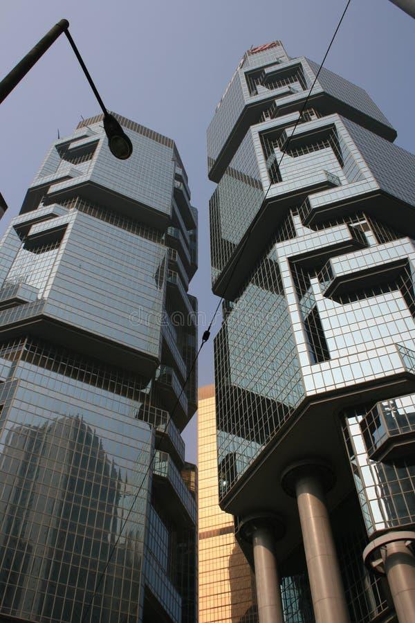 byggnad Hong Kong royaltyfri fotografi