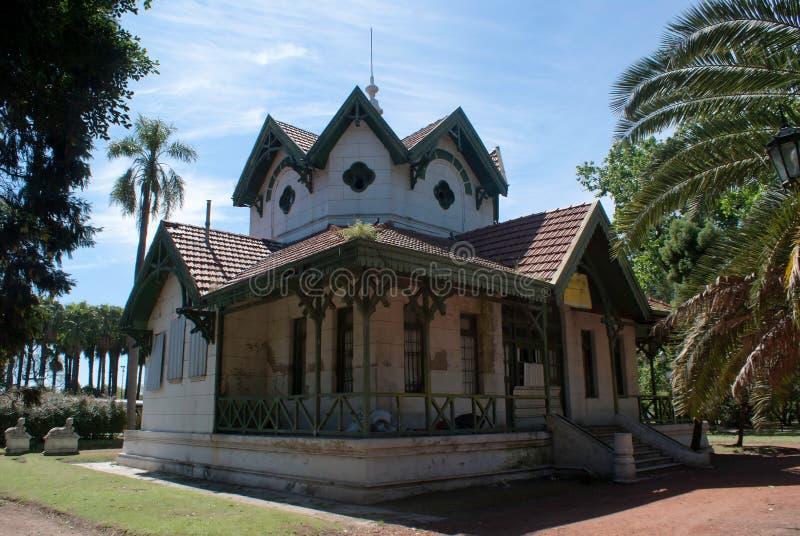Byggnad i Palermo arkivbild