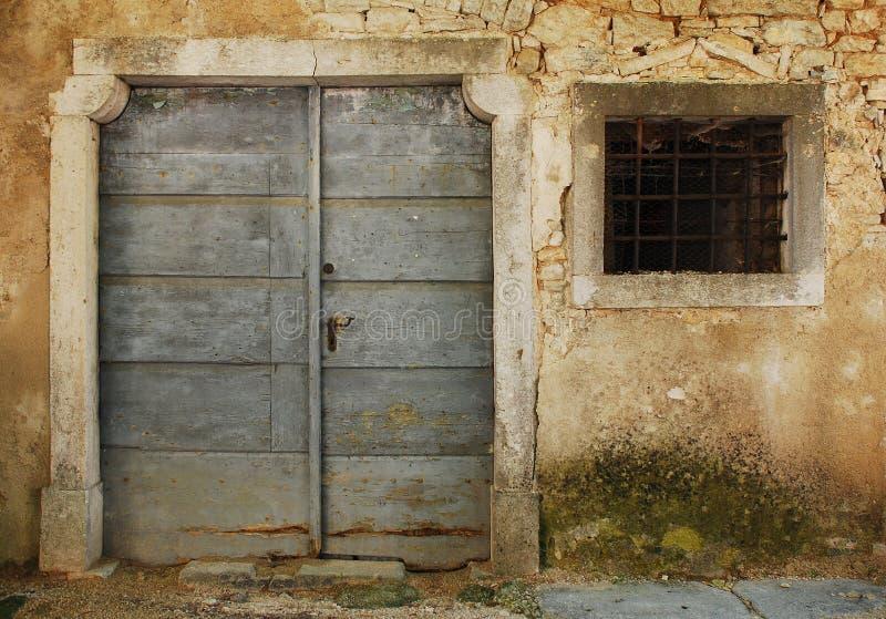 Byggnad i Pazin royaltyfri foto