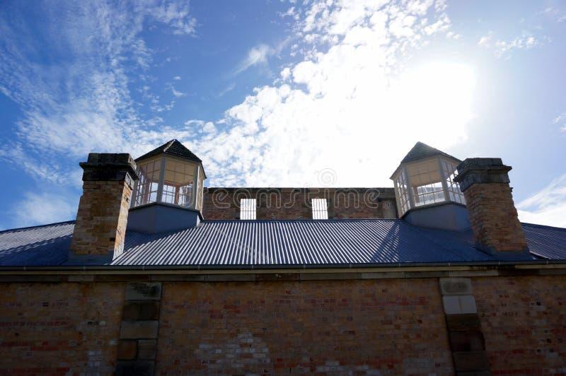 Byggnad i Port Arthur arkivfoto