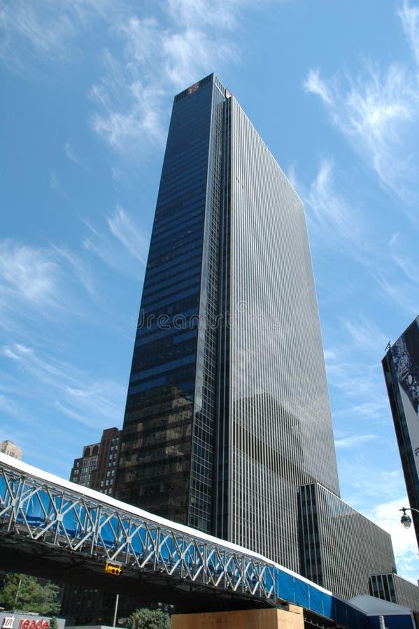 byggnad New York royaltyfri foto