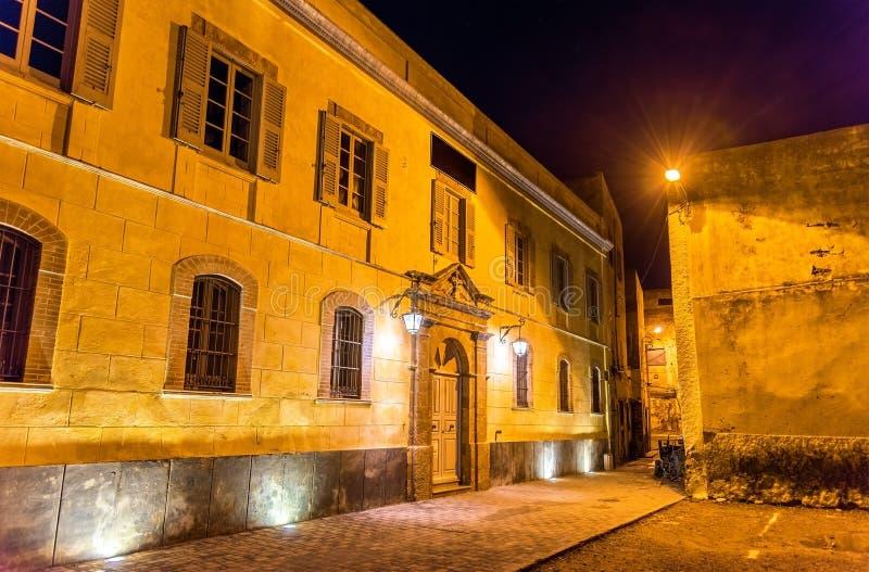 Byggnad på den portugisiska staden av Mazagan i El-Jadidia, Marocko royaltyfria bilder