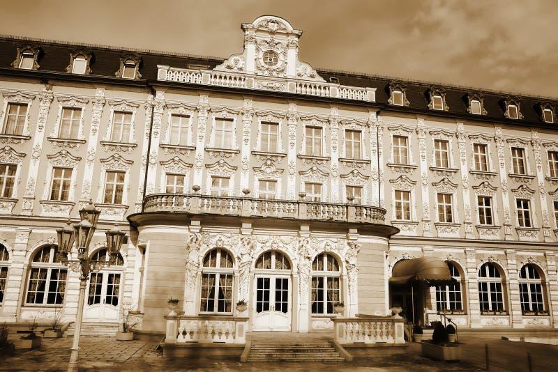 byggnad regensburg royaltyfria foton