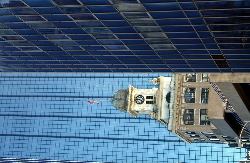 byggnad tampa royaltyfri bild