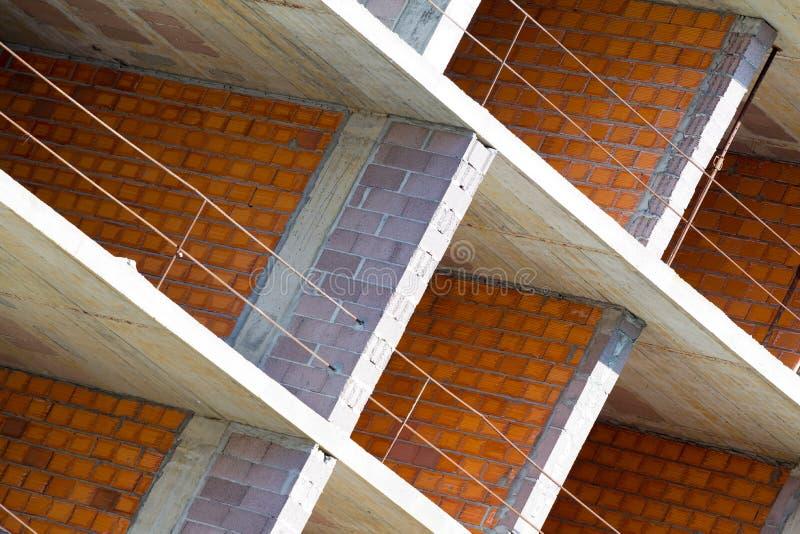 Byggnad under konstruktion arkivfoton