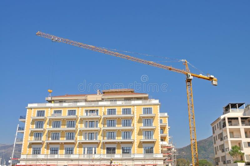 Byggnad under konstruktion royaltyfri foto