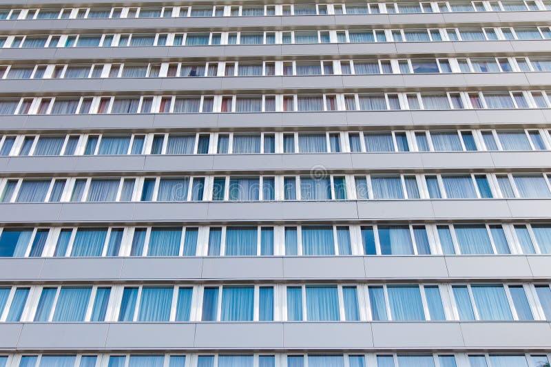 Byggnad Windows arkivfoto