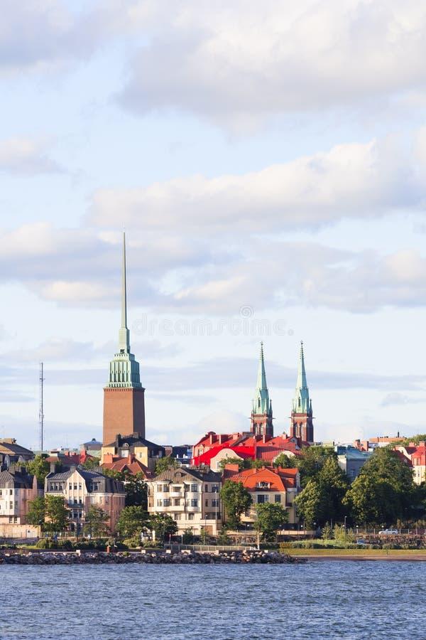 Byggnader i Helsingfors arkivbild
