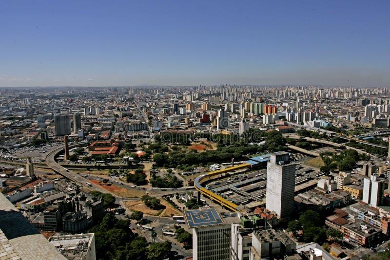 Byggnader i Sao Paulo arkivfoto