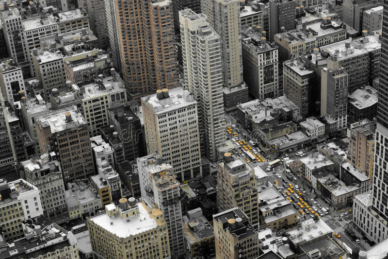 byggnader New York arkivbild