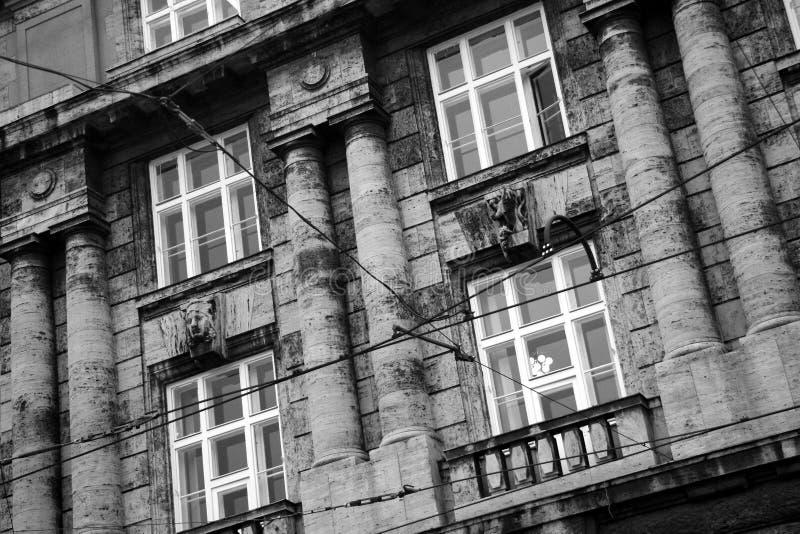 byggnader prague arkivbild