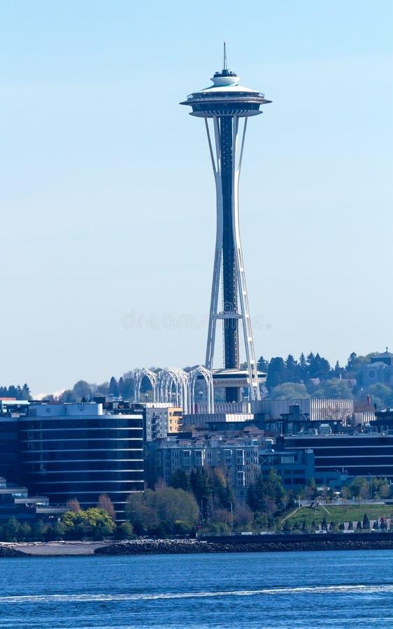 Byggnader Washington för Seattle tornCityscape arkivbild