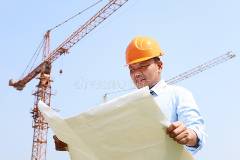 Byggnadsarbetare royaltyfri foto