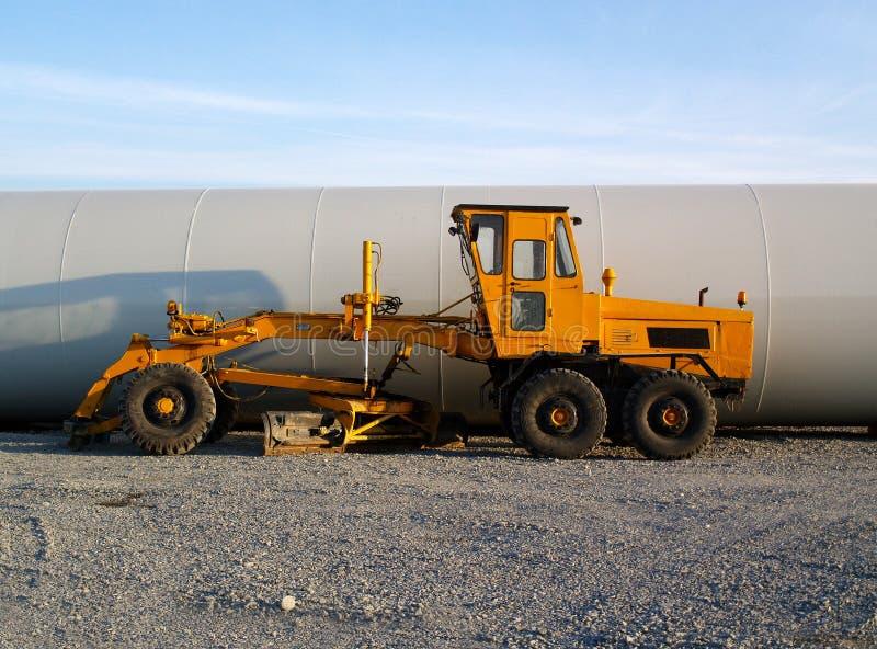 Download Byggnadsbil arkivfoto. Bild av winch, wind, traktor, backhand - 29024854