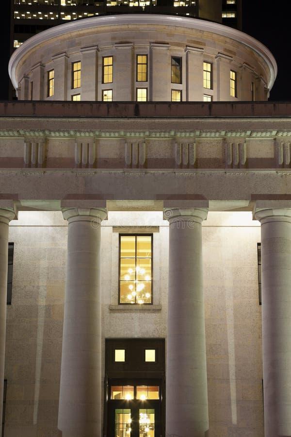 byggnadscapitolcolumbus ohio tillstånd royaltyfria foton