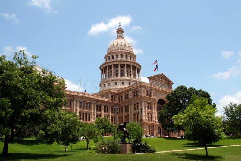 byggnadscapitoltillstånd texas arkivfoto