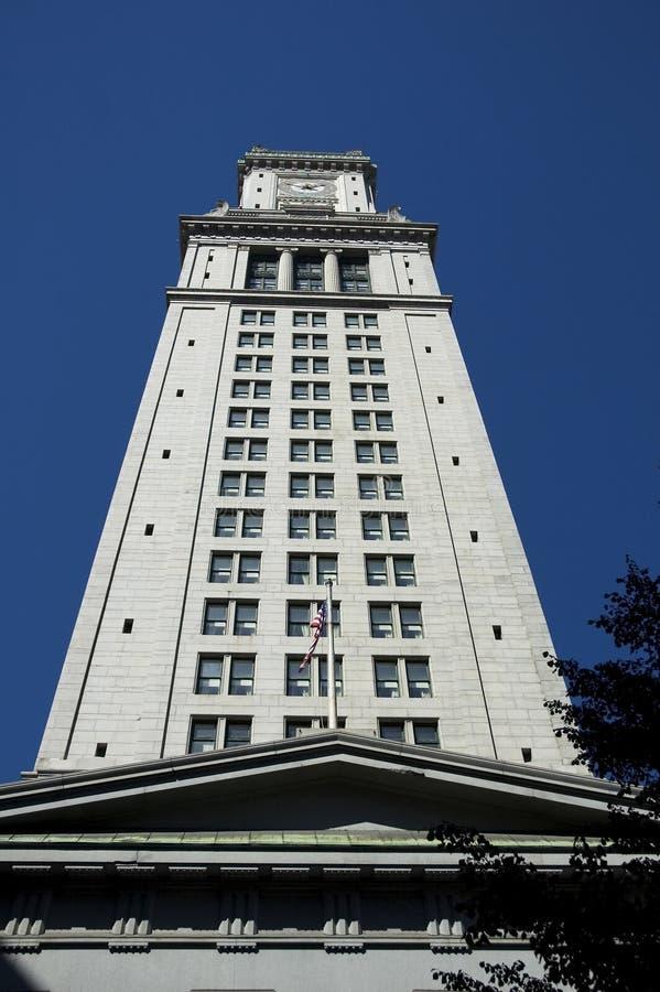 byggnadsclocktower arkivbild