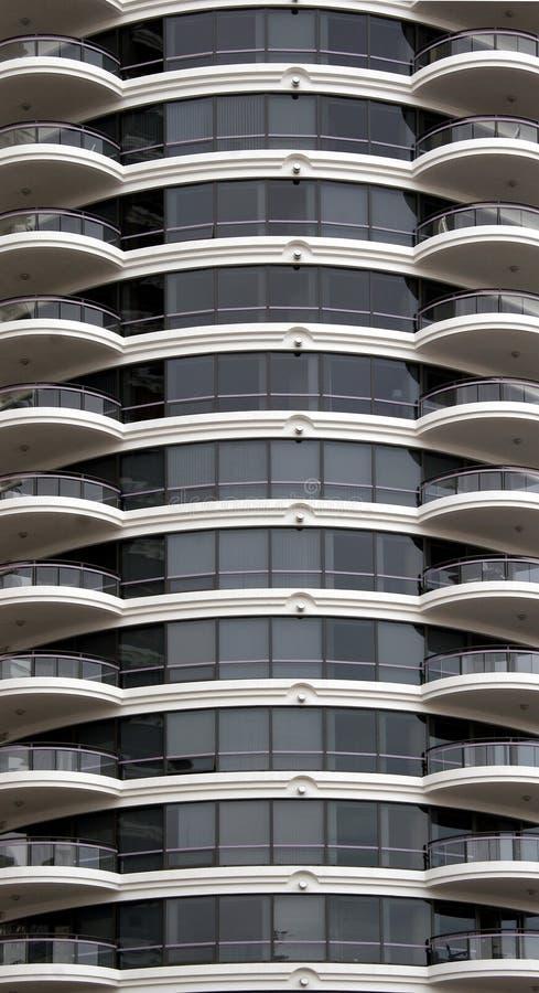 byggnadscondoyttermodernt arkivfoto