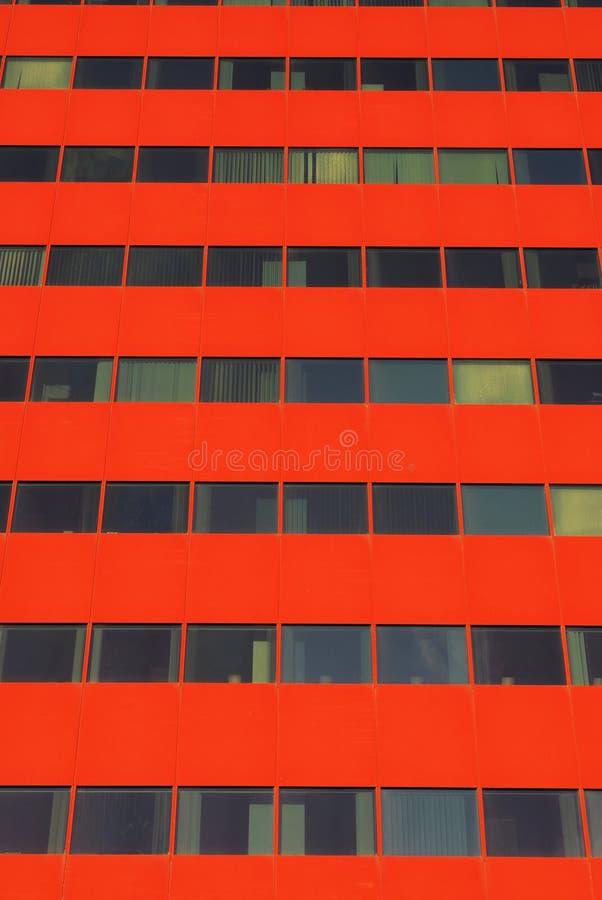 byggnadsedmonton modernt kontor royaltyfri fotografi