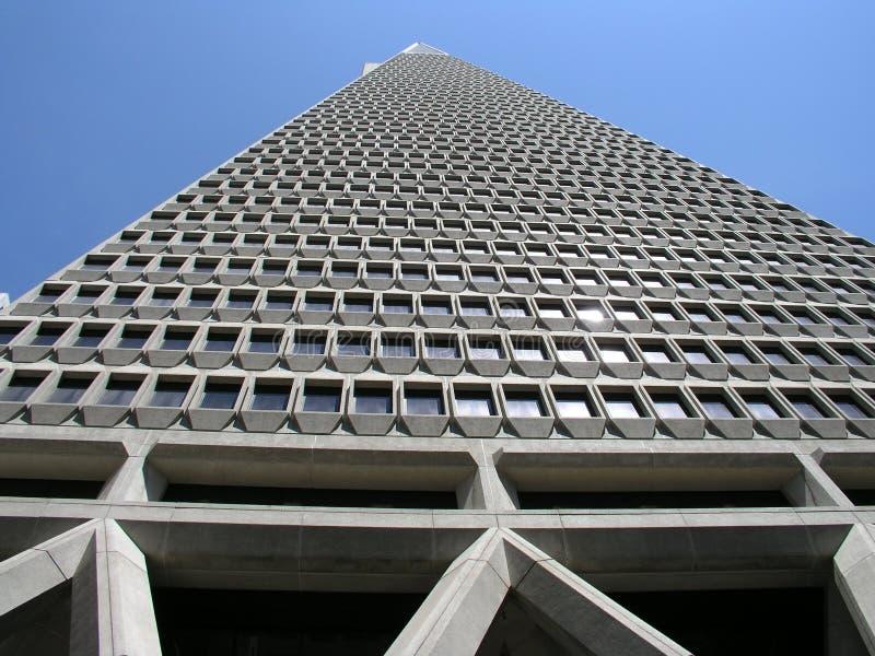 byggnadsKalifornien francisco san transamerica arkivfoto