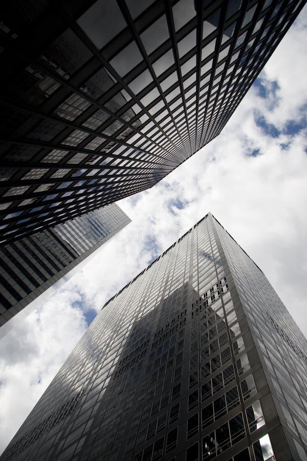 byggnadsstad New York arkivbilder