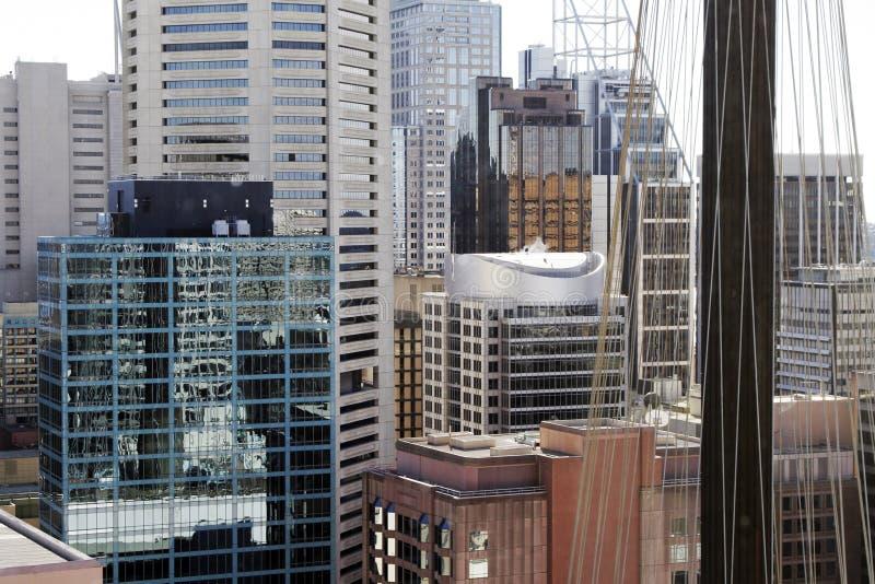 byggnadsstadsfacade arkivbild