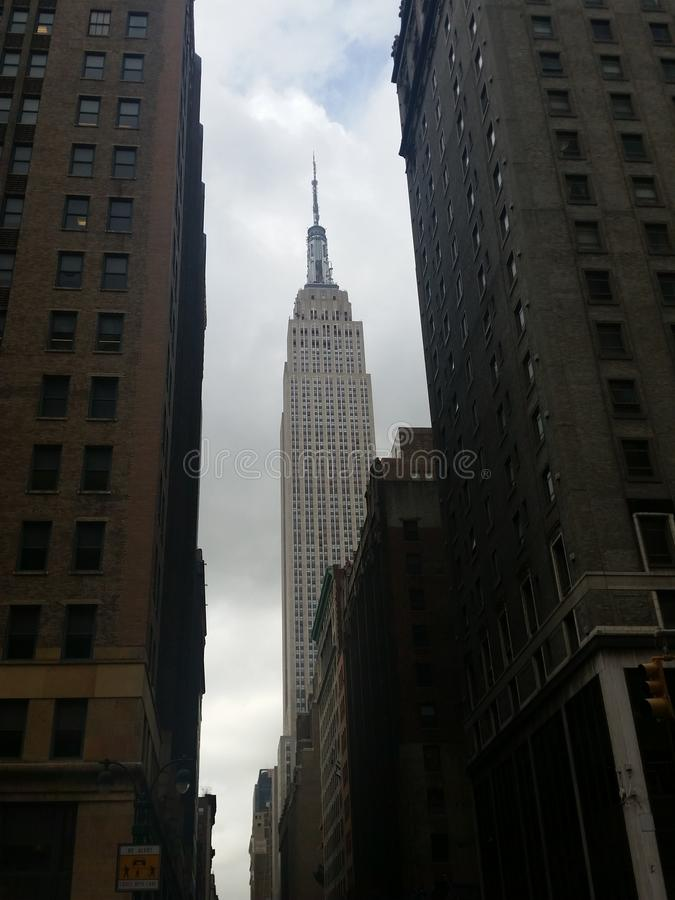 byggnadsväldemanhattan nytt tillstånd USA york arkivbild