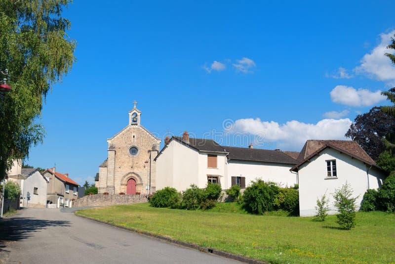 Byhelgon-Meard i franska Limousin royaltyfria foton