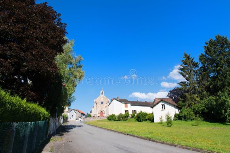 Byhelgon-Meard i franska Limousin arkivfoto