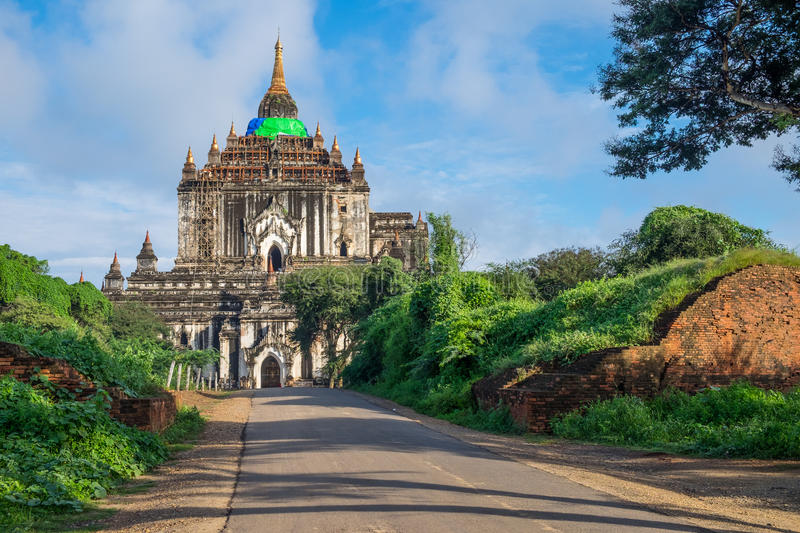 That Byin Nyu temple, tallest temple in Bagan ancient city, Mandalay, Myanmar. Asia royalty free stock images