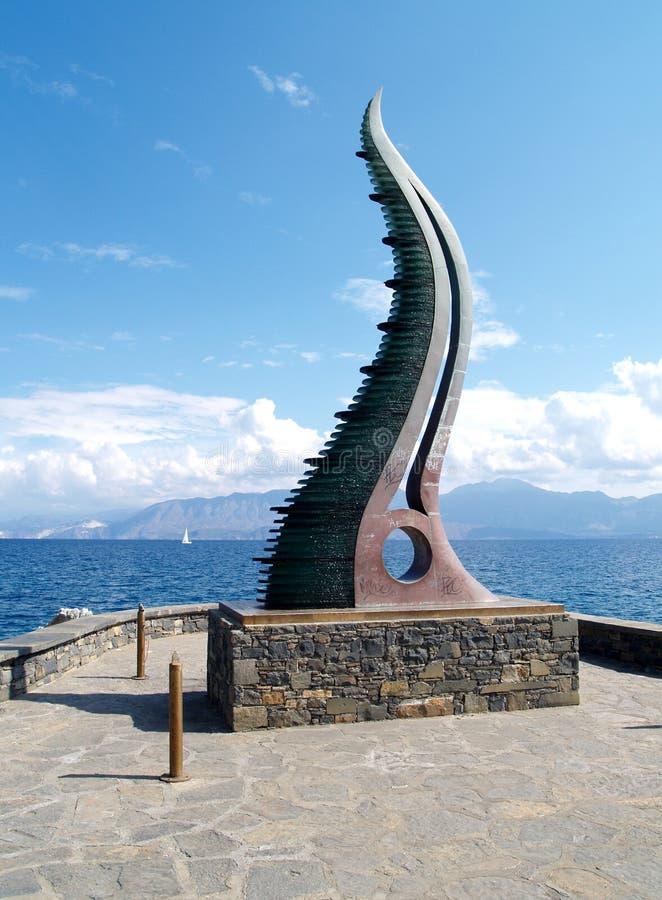 byka kąta Crete symbol zdjęcia royalty free