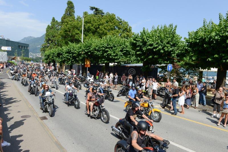 Download Bykers Du Défilé à Harley Days Suisse à Lugano Sur Switz Photo éditorial - Image du cycliste, vieux: 56477151