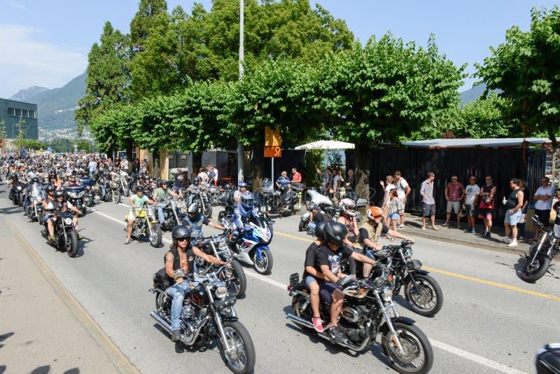 Download Bykers Du Défilé à Harley Days Suisse à Lugano Sur Switz Photographie éditorial - Image du davidson, motocyclette: 56477267
