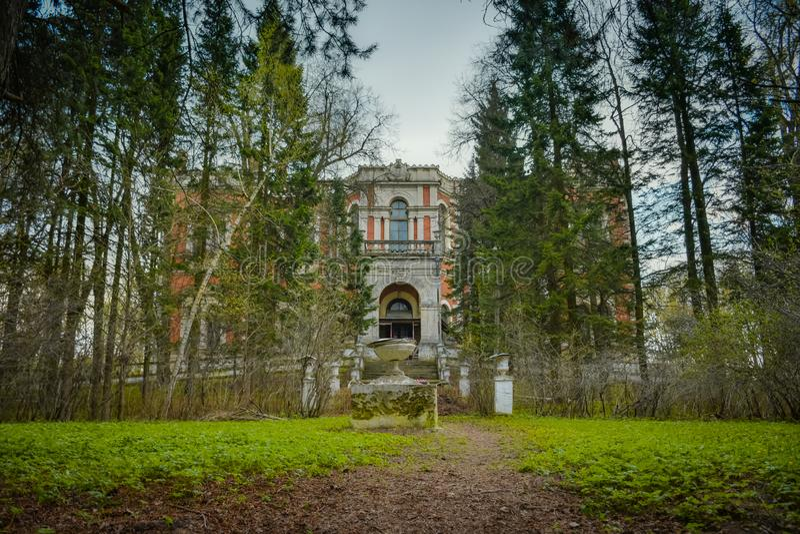 Bykovo, Manor in Bykovo royalty free stock photos