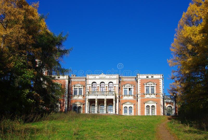 BYKOVO, MOSKWA region ROSJA, Październik, -, 2015: Rezydencja ziemska Bykovo _ obrazy royalty free