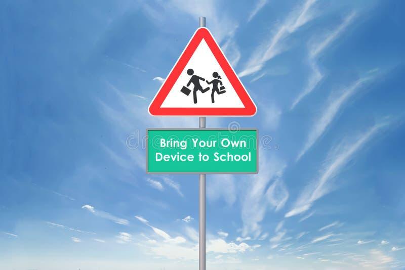 Download BYOD School stock illustration. Image of business, advantage - 30606424