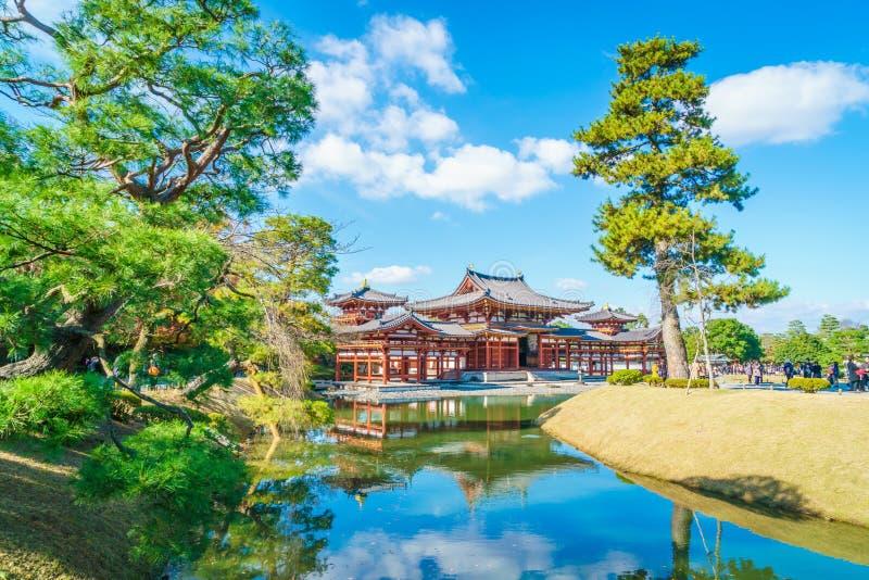 Byodo在寺庙京都,日本 库存图片