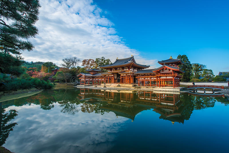 Byodo-στο ναό, Ιαπωνία στοκ εικόνα με δικαίωμα ελεύθερης χρήσης